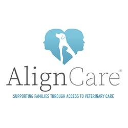 AlignCare Logo tagline vertical