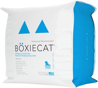 Boxiecat Premium Clumping Clay Cat Litter