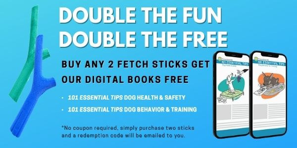 Buy two fetch sticks get free digital books
