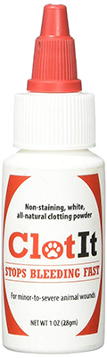 ClotIt Veterinary Blood Stopping Powder