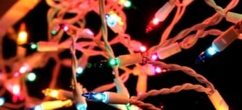 Color Christmas Lights