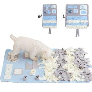 DIFFLIFE Snuffle Mat Nosework Blanket Dog Training Mats Dog Feeding Mat Pet Activity Mat Great for Stress Release