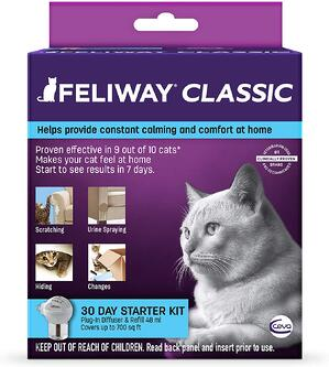 FELIWAY Classic Diffuser for Cats (30 Day Starter Kit)