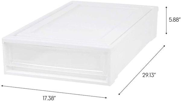 IRIS Under Bed Storage Box Chest Drawer