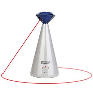 Interactive Laser Cat Toy - Automatic Rotating Laser Pointer