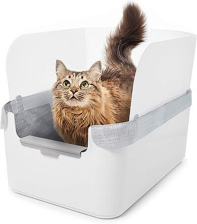 Modkat Litter Tray with Reusable Liner