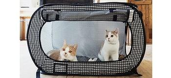 Necoichi Portable Stress Free Cat Cage