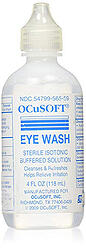 Ocusoft eye wash irrigating solution