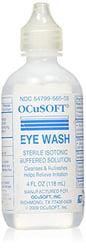 Ocusoft eye wash irrigating solution