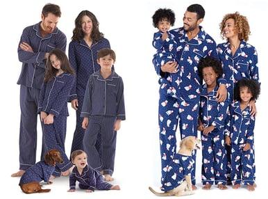 Matching Family Christmas and Holiday Pajamas Cozy