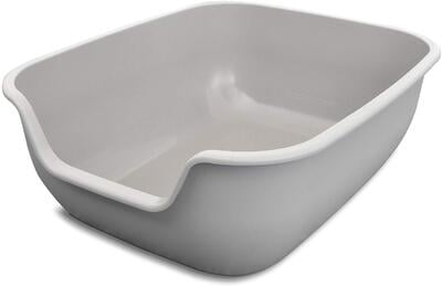 PetFusion Large Litter Box (the BetterBox). NON-STICK Coating significantly reduces cleaning time