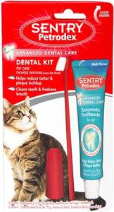 Petrodex Dental Kit for Cats, Malt Flavor