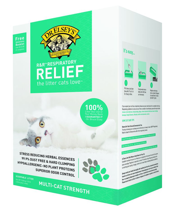Precious Cat Respiratory Relief Cat Litter with Herbal Essences 2