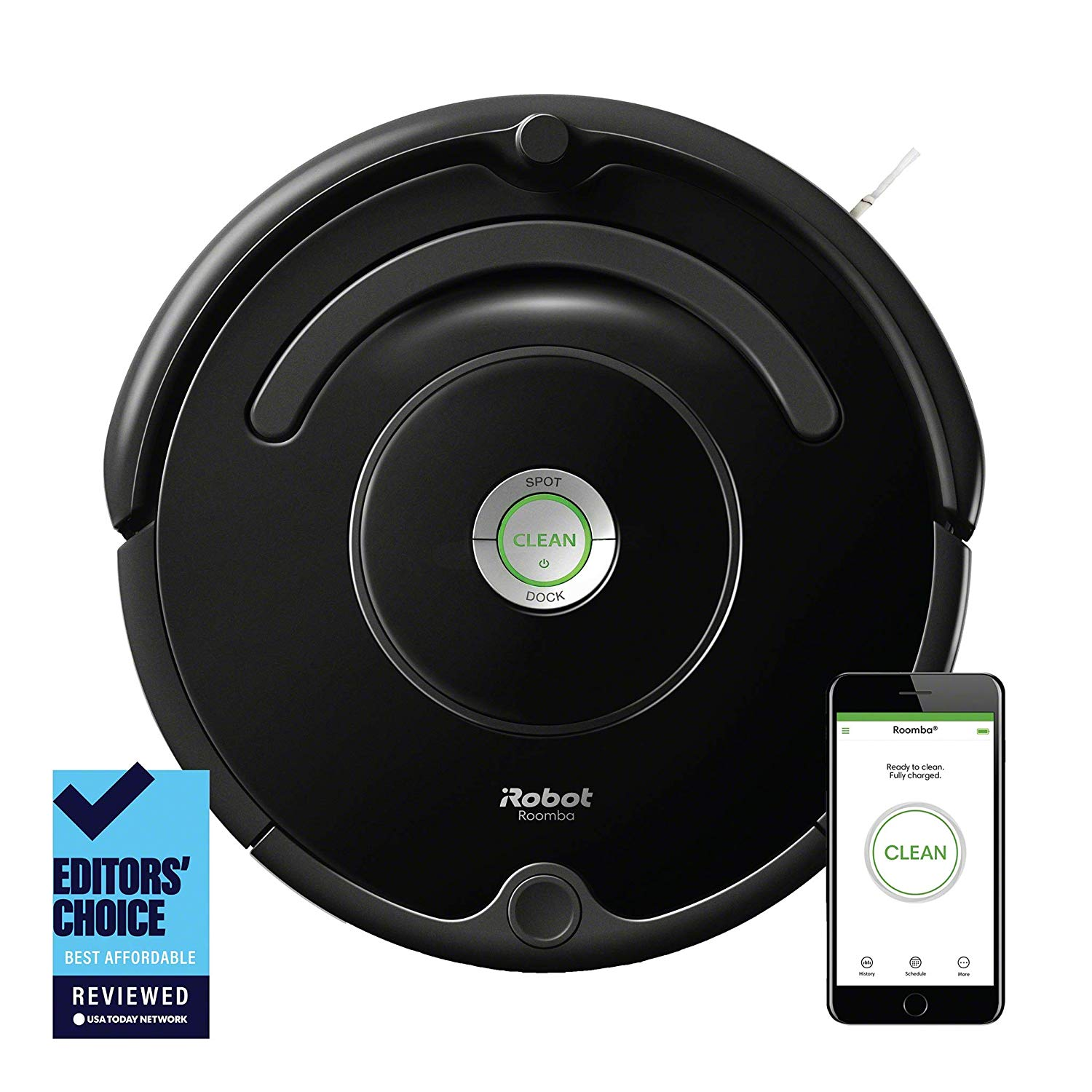 Roomba Robot Vacuum for pet hair with Wi-Fi Connectivity