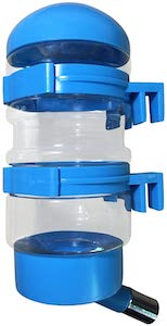 SatisPet Water Bottle for Dogs and Cats Leak-Proof Fountain for Automatically Feeding Water