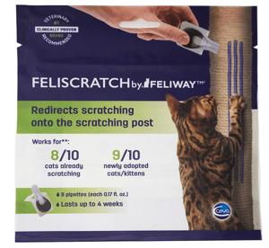 Feliway Feliscratch pheromones