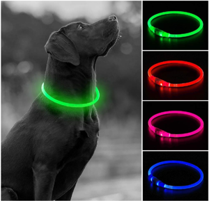 USB Rechargeable LED Collar