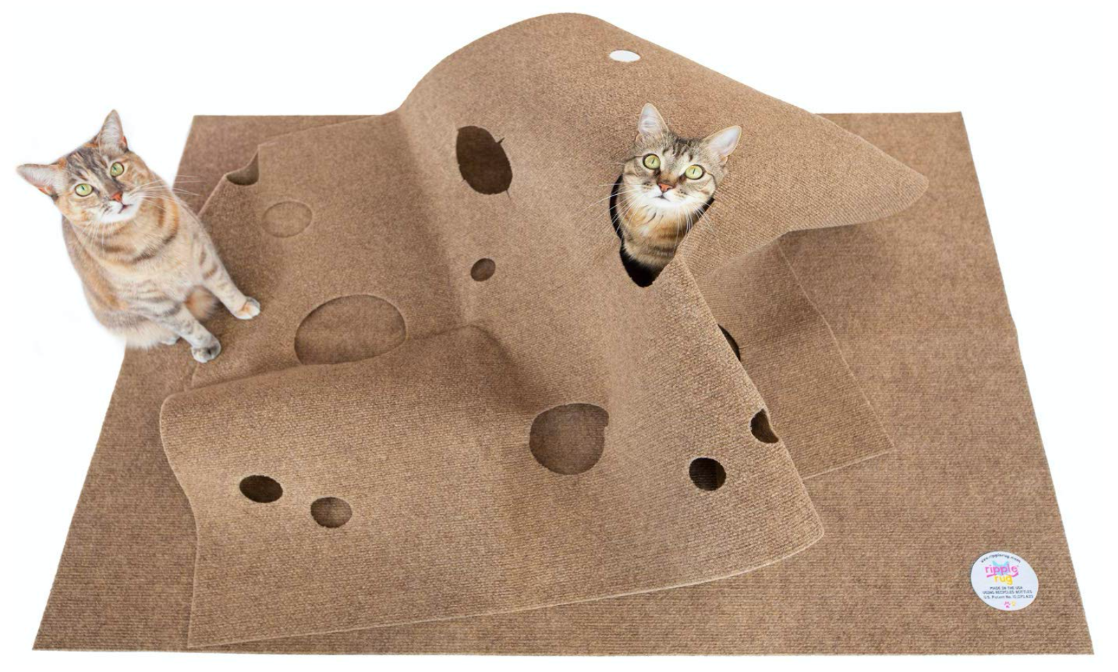 Interactive Cat Rug