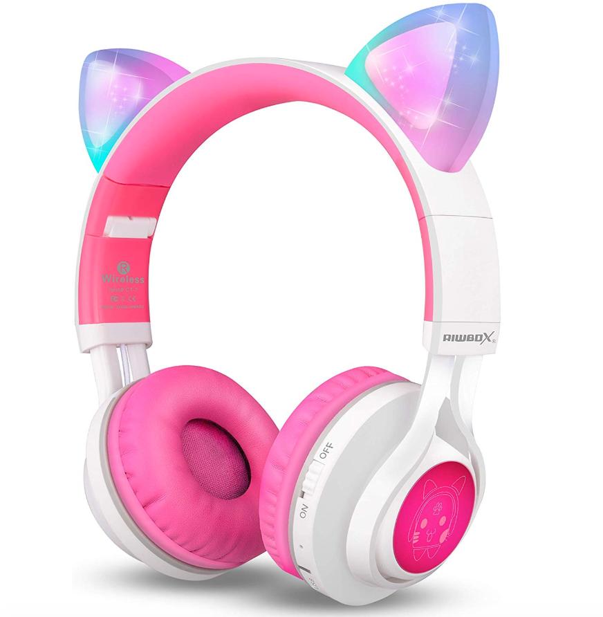 Bluetooth Cat Ear Headphones
