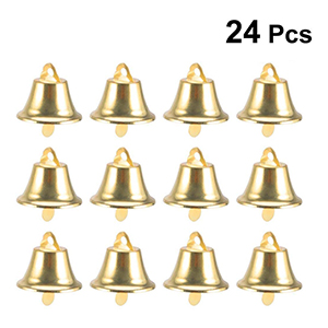 TINKSKY 24pcs 45mm Jingle Bell Christms Ornaments Door Christmas Tree Hanging Decoration Pendants