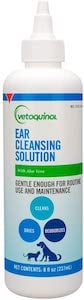 Vetoquinol Ear Cleansing Solution for Dogs and Cats
