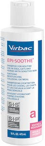 Virbac Epi-Soothe Pet Shampoo for Dogs Cats and Horses