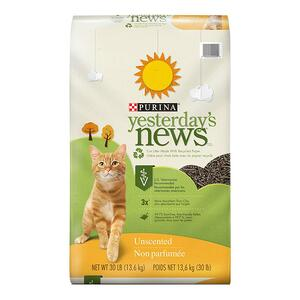 Yesterday's News Cat Litter