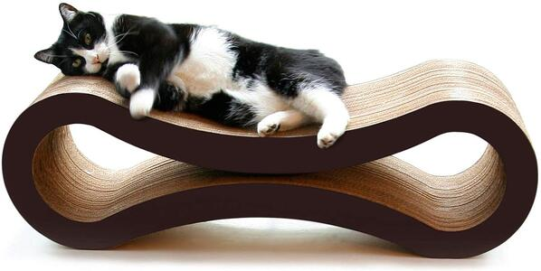 cat scratcher and lounger