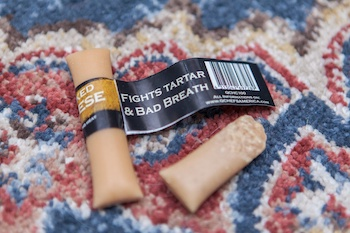 cheese chew dangers for dogs 350