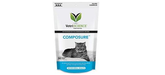 composure cat calming formula