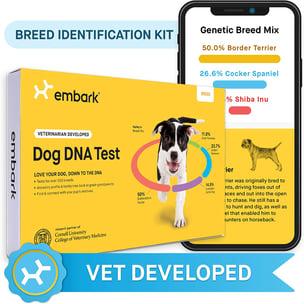 dog dna test breed identification kit
