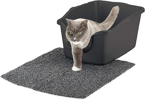 high sided litter box natures miracle