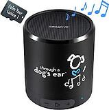 iCalmDog 5.0a Portable Speaker + 90-mins Clinically-Tested Calming Music - Through a Dogs Ear