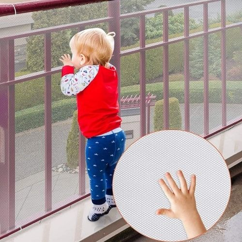 mesh for rails and balcony pet safety