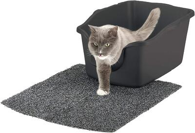 natures miracle high sided cat litter box