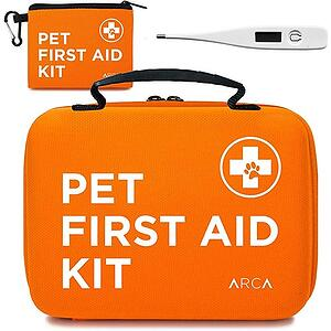 100 piece pet travel first aid kit