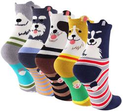 socks-cotton-crew-womens-dog