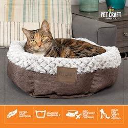 soho round cat bed