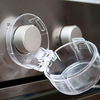 stove knob safety covers