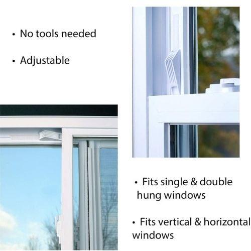 window wedge window stopper for pets