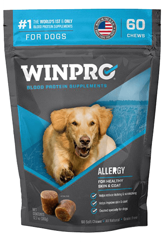 winpro blood protein supplements for dogs - allergy