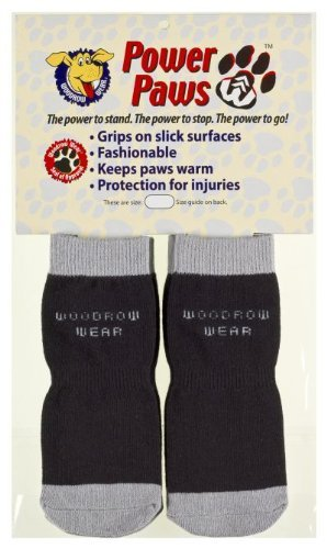 woodrow wear power paws traction socks for dogs