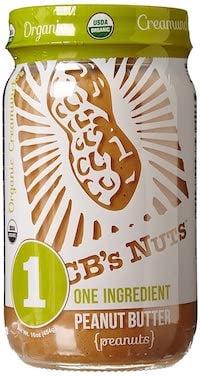 CBs Nuts Organic Peanut Butter