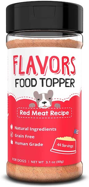 flavors food topper for dogs