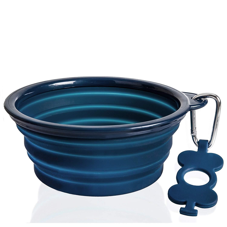 Bonza collapsible large dog water bowl