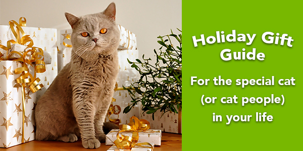 holiday gifts for people who love cats