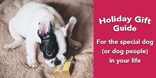 holiday gifts for people who love dogs