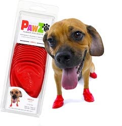 Pawz reusable and disposable dog boots