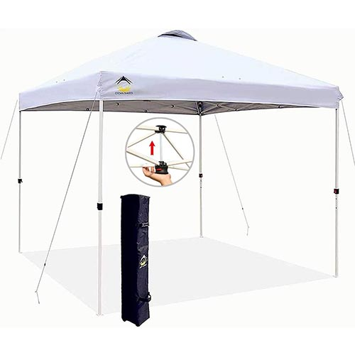 Crowns 10x10 pop up canopy