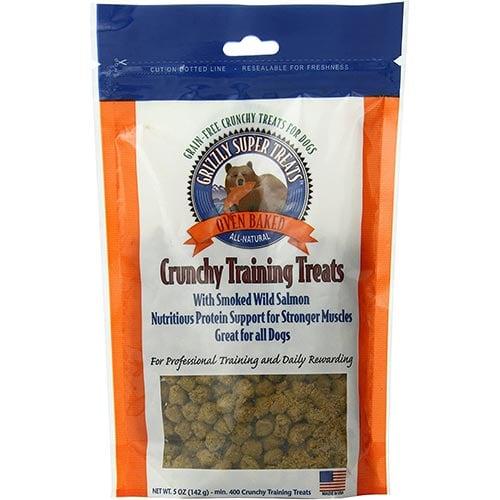 Grizzly Crunchy Smoked Wild Salmon Training Treats